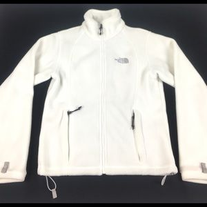 The north face women's fleece jacket Sz SMALL